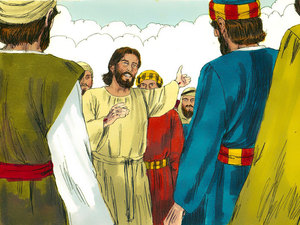Jesus spent forty days walking and