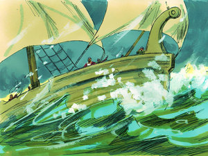 Shipwrecked A Bible Story About The Apostle Paul By Linda
