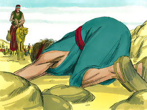 a happy reunion a bible story about jacob and esau by
