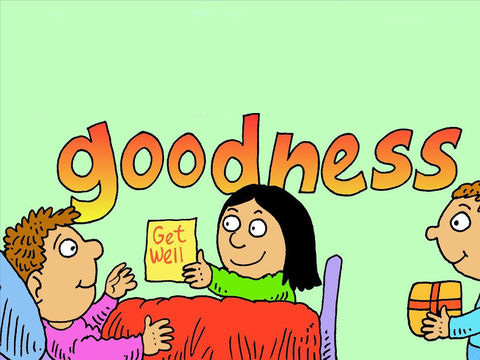 - The Fruit Of The Spirit Is Goodness: Who Is Good? - By Sophia Prinsloo